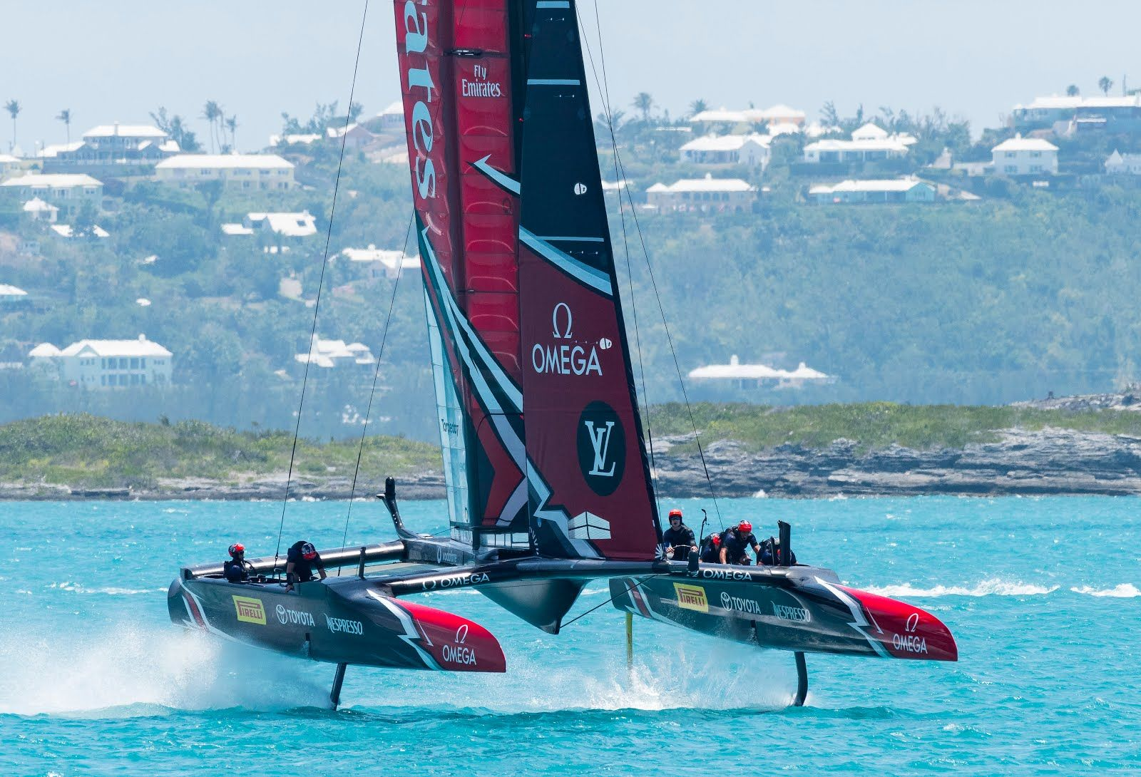 Colaboración de Omega con el Emirates Team New Zealand de vela