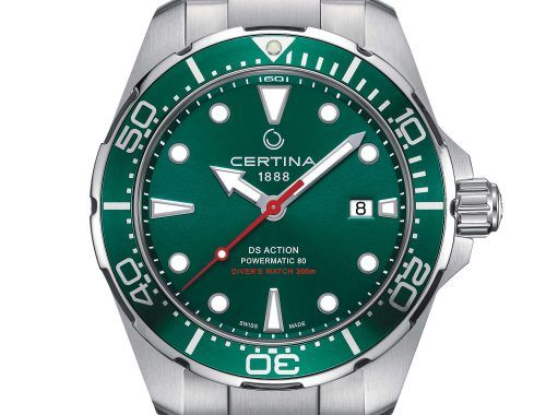 Certina Ds Action Diver Verde