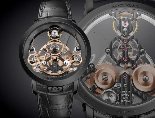 ARNOLD & SON – Instrument Time Pyramid Black Edition 33