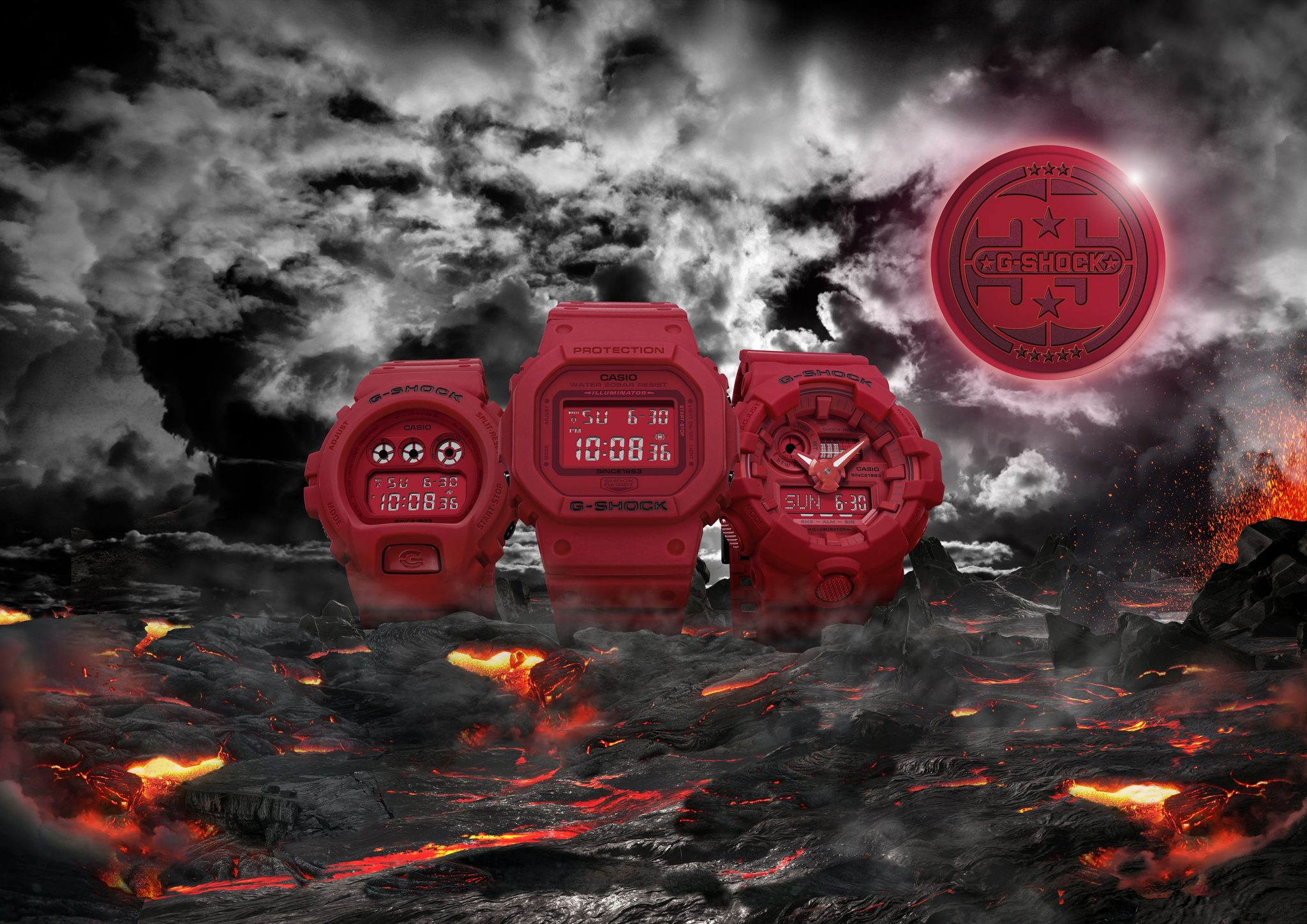 G-SHOCK 35 ANIVERSARIO RED OUT