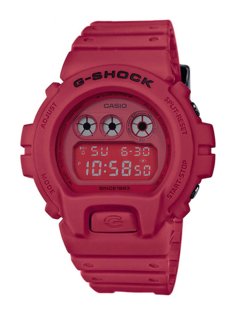 NUEVOS G-SHOCK RED-OUT DEL 35 ANIVERSARIO