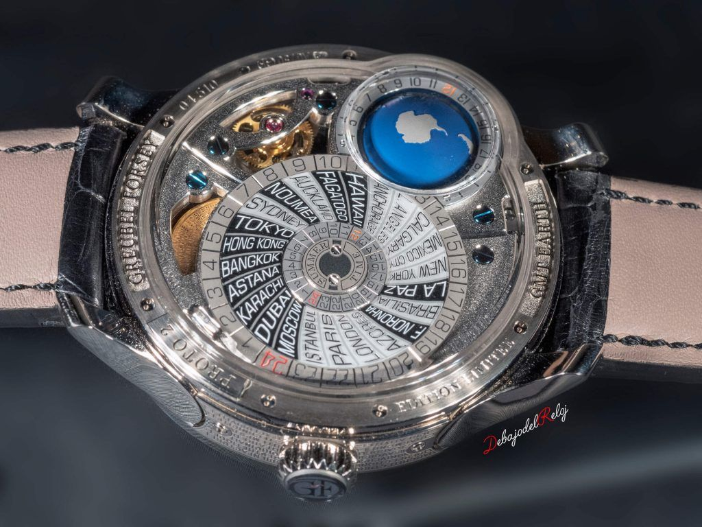 Greubel Forsey Gmt back