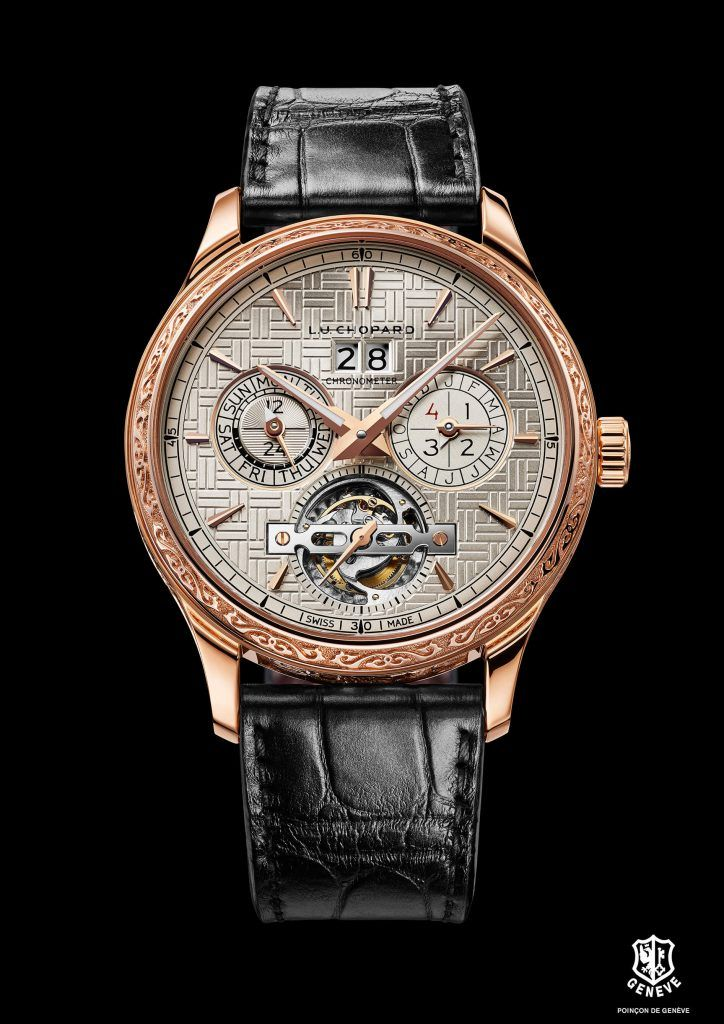 L.U.C Perpetual T Spirit of the Chinese Zodiac front blog debajo del reloj