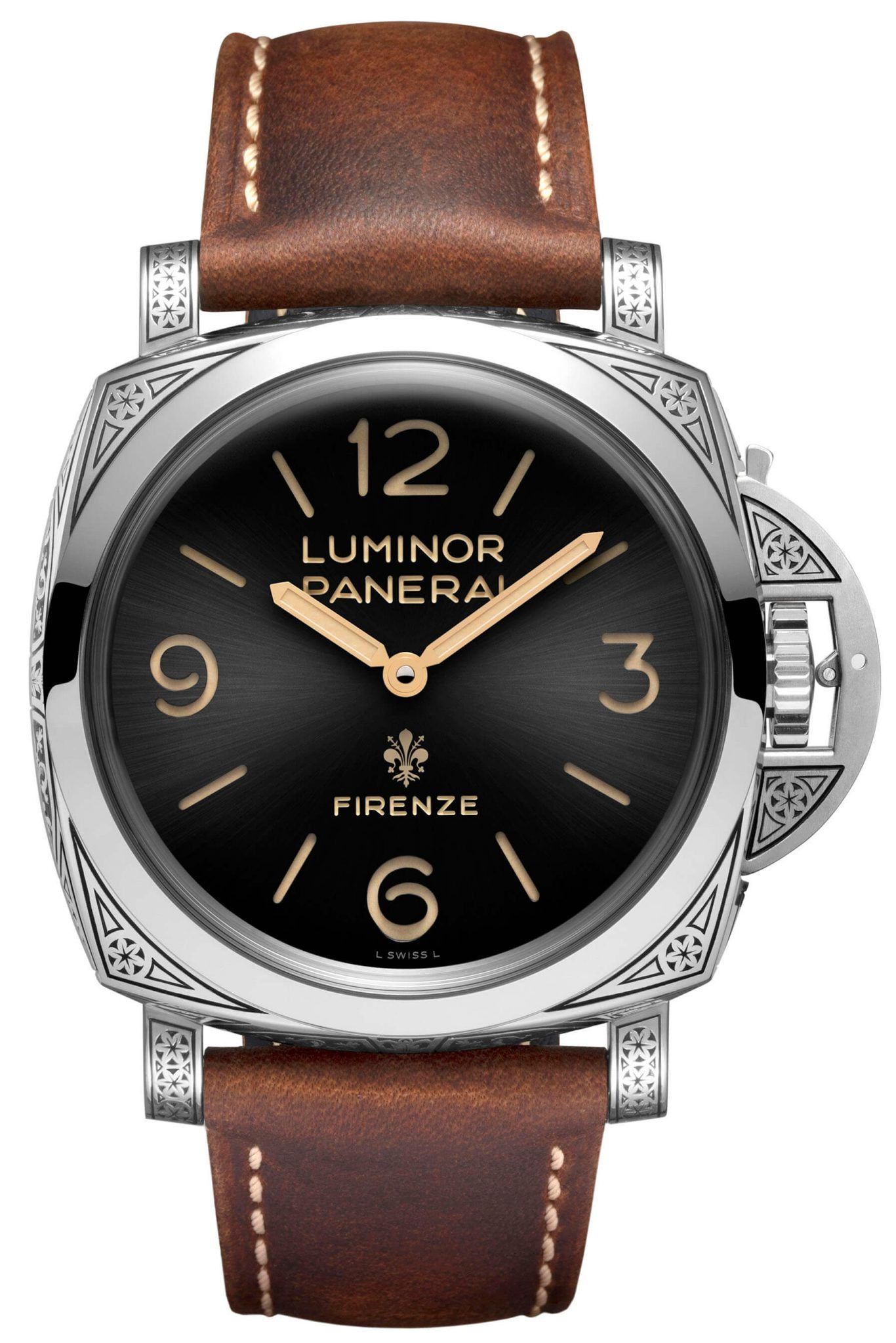 Panerai Luminor 1950 Firenze Pam972 frontal Debajo del relo blog relojes