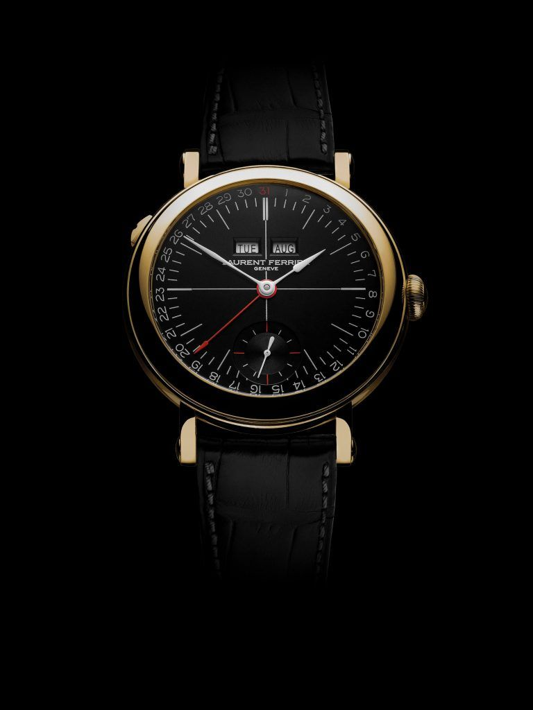 Laurent ferrier Galet Annual blog debajo del reloj negro