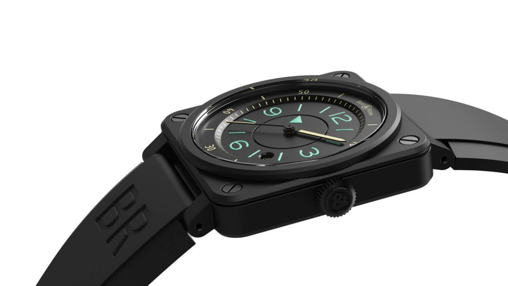 BR03-92 Bi-Compass bell&ross inclinado