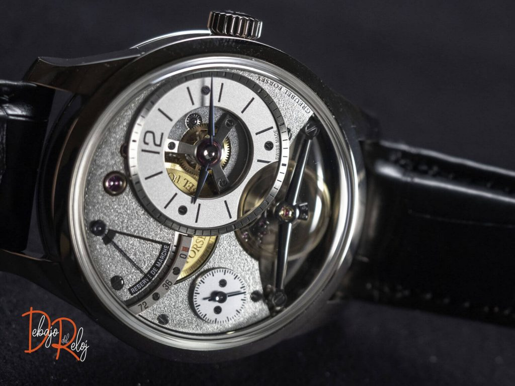 Greubel Forsey Balancier Contemporain frontal