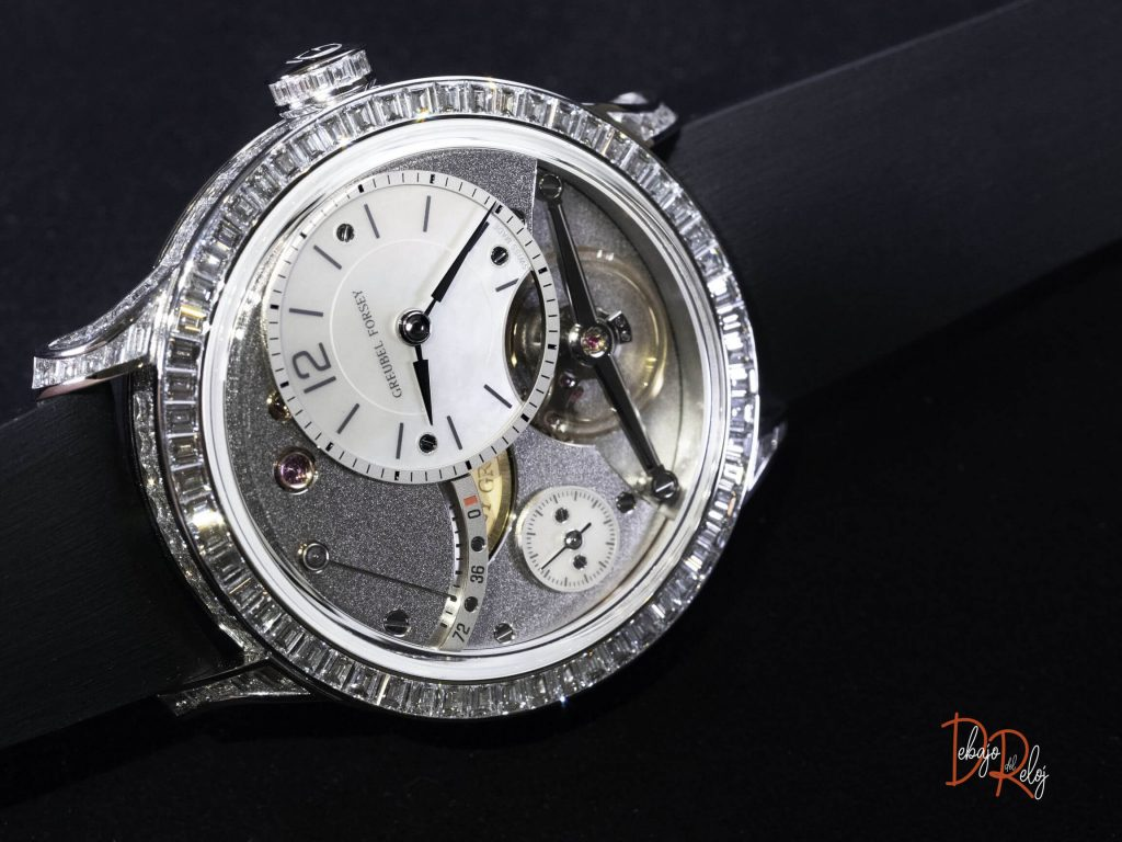 Greubel Forsey Balancier Contemporain diamantes