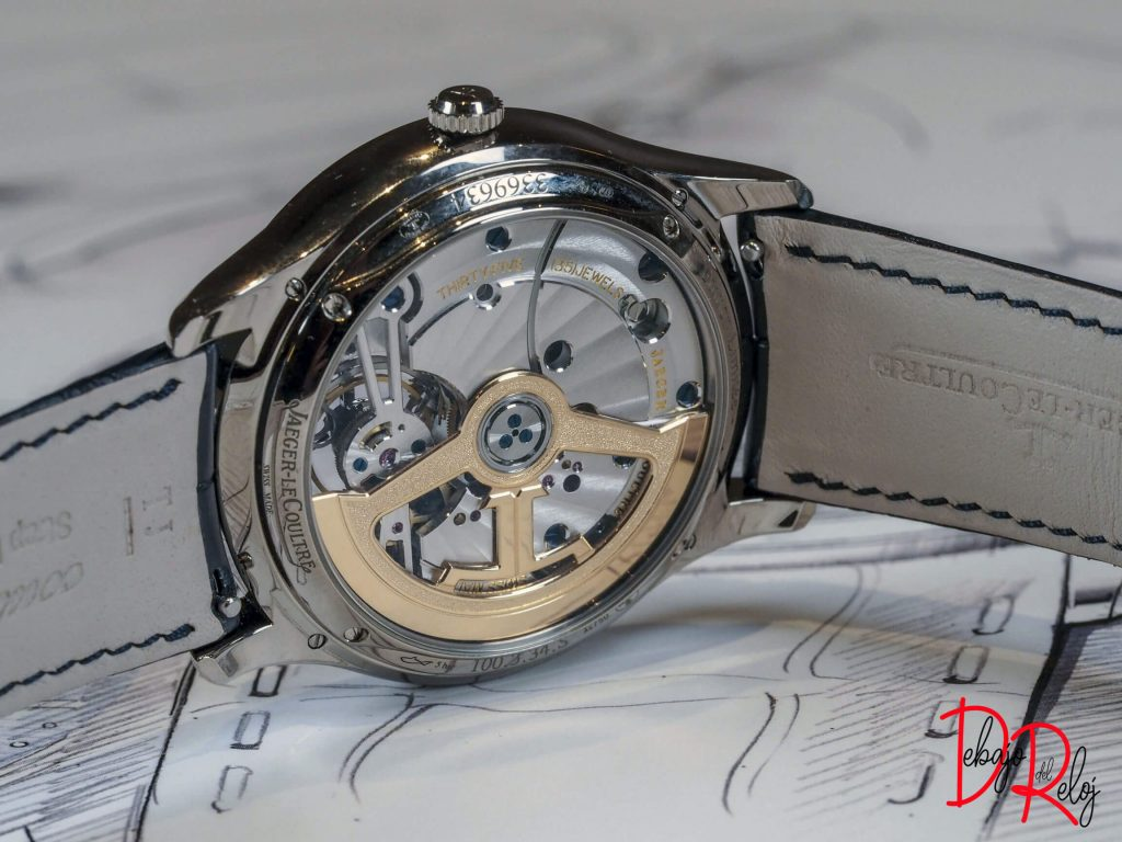 Master Ultra Thin tourbillon back