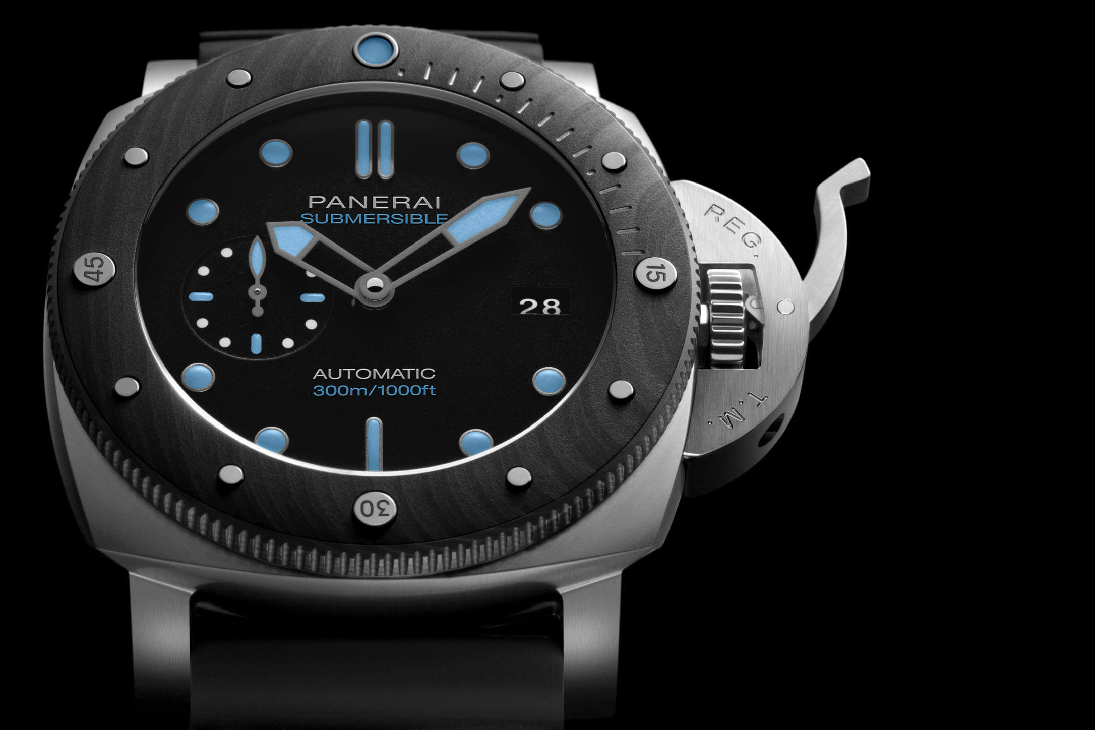 PANERAI SUBMERSIBLE BMG TECH 47MM blog debajo del reloj