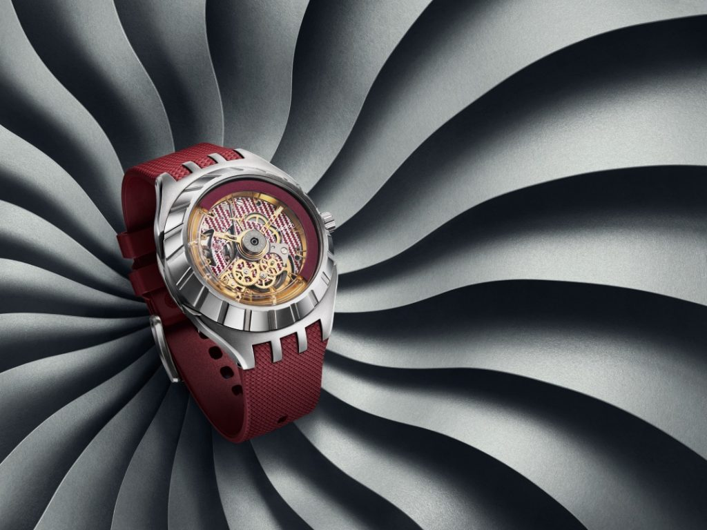 Swatch Flymagic rojo