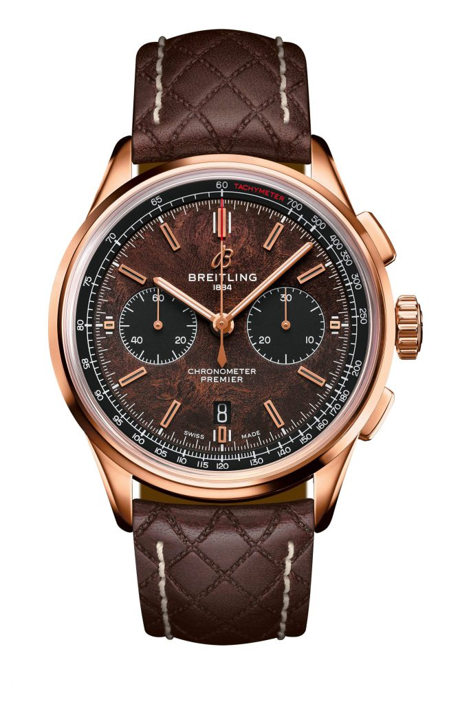 Premier B01 Chronograph Bentley Or vdf B