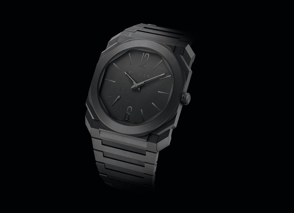 Bulgari Octo Finissimo Ceramic esqueleto back Automatic
