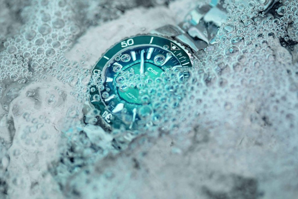 Oris Great Barrier Reef Limited Edition III agua