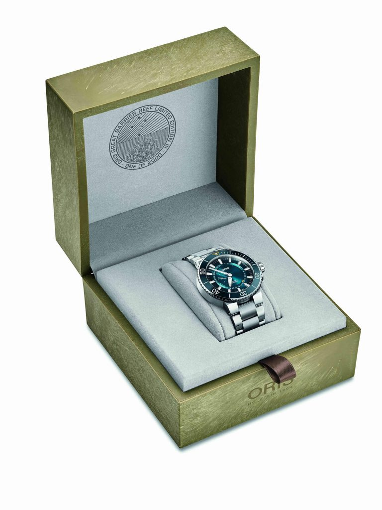 Oris Limited Edition III caja