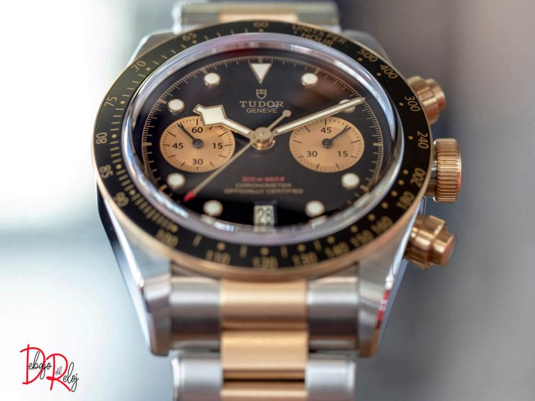 TUDOR BLACK BAY chrono frente
