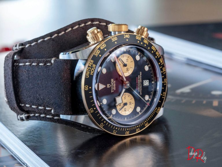 TUDOR BLACK BAY chrono piel