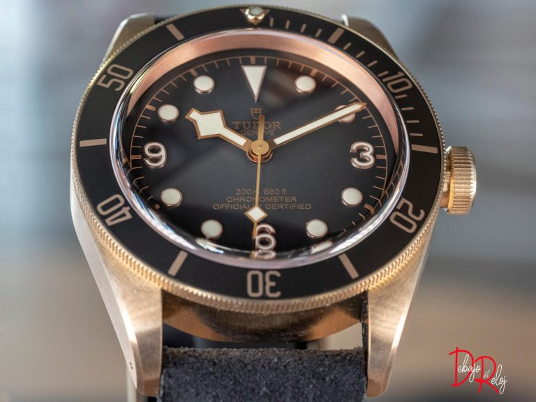 TUDOR black bay bronze frente
