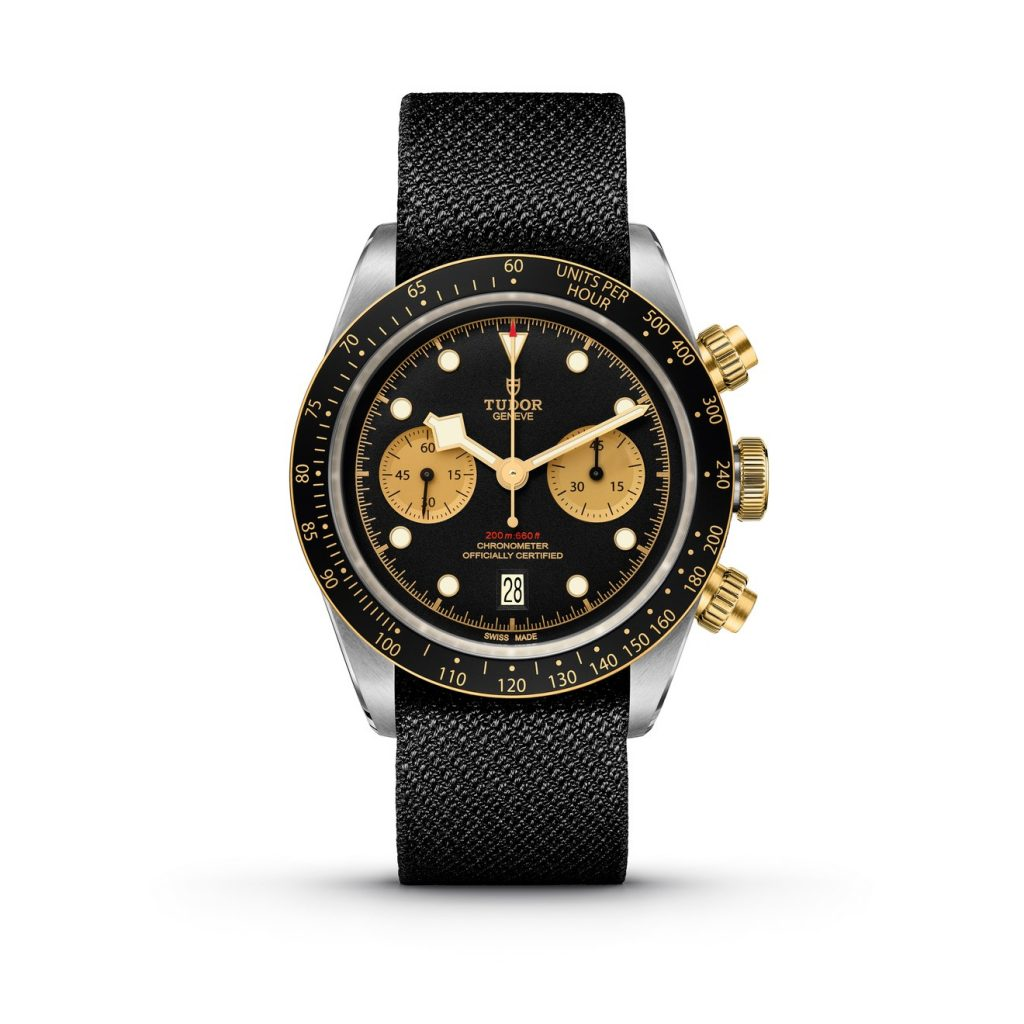 tudor Black Bay Chrono S&G tela