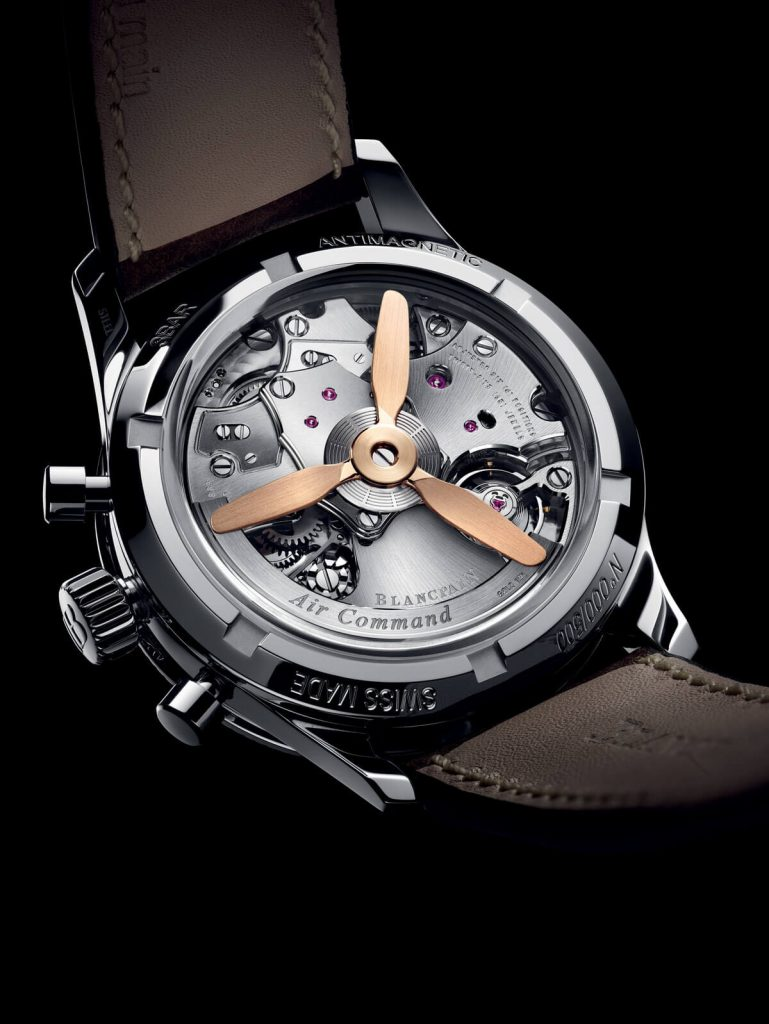 Blancpain Air Command back style