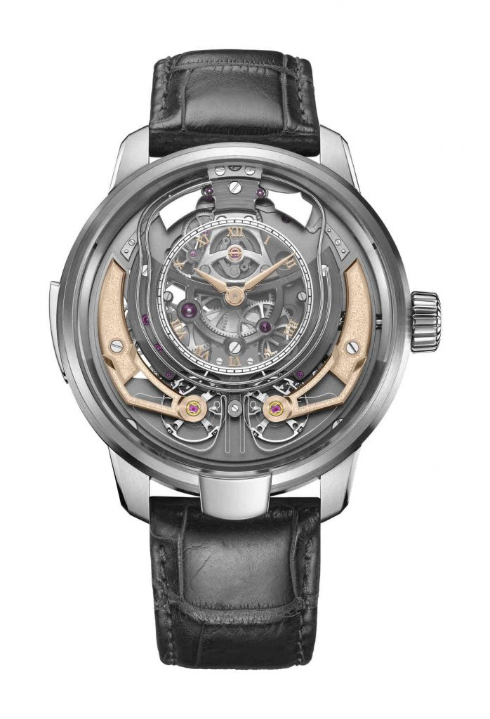 Armin Strom Minute Repeater Resonance front