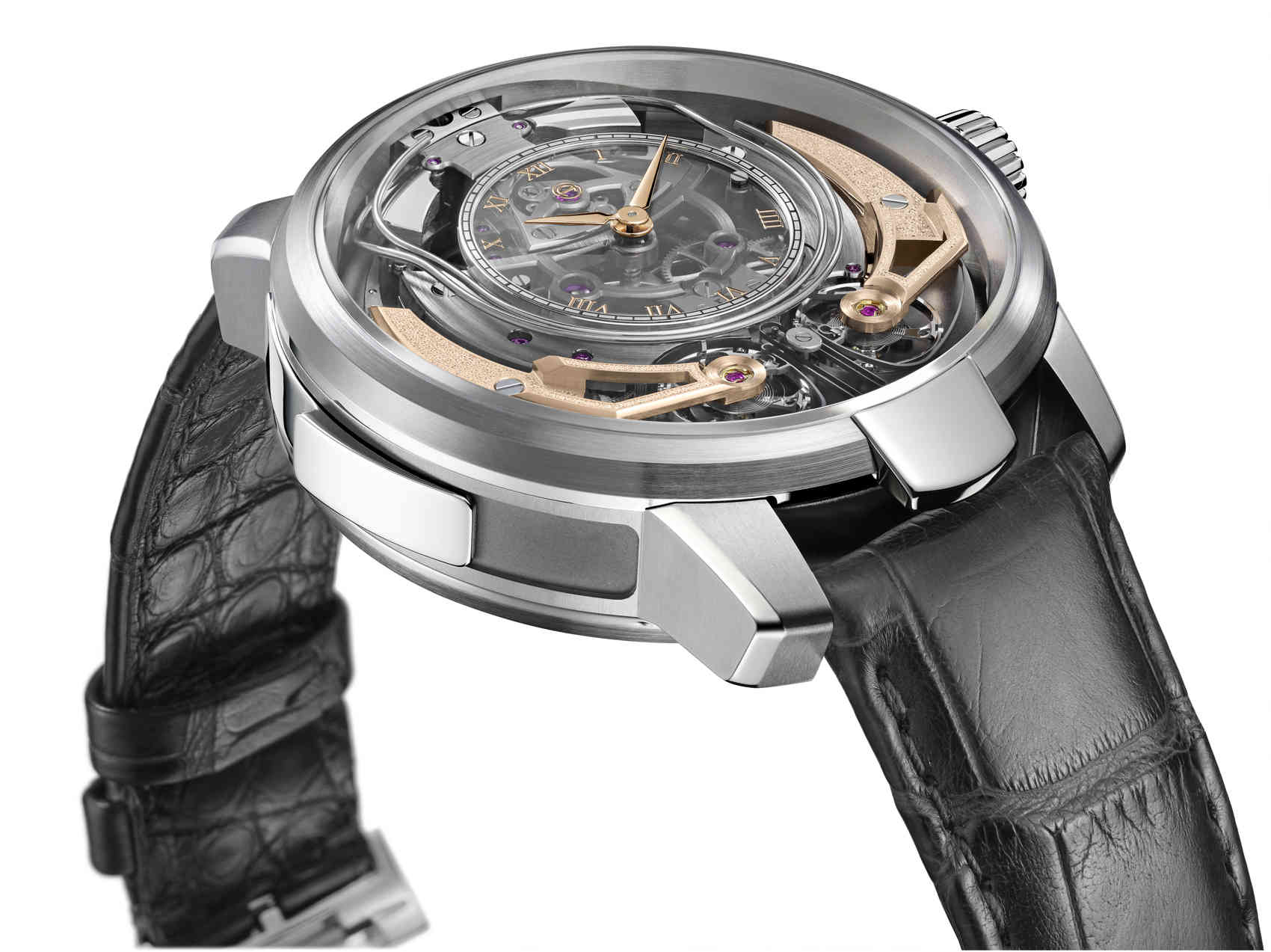Armin Strom Minute Repeater Resonance lado