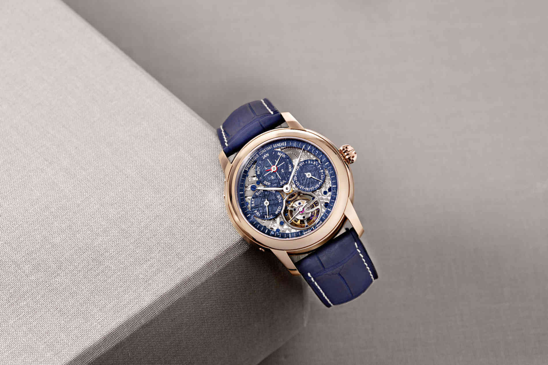 Frederique Constant Meteorite Tourbillon Perpetual Calendar Manufacture only watch