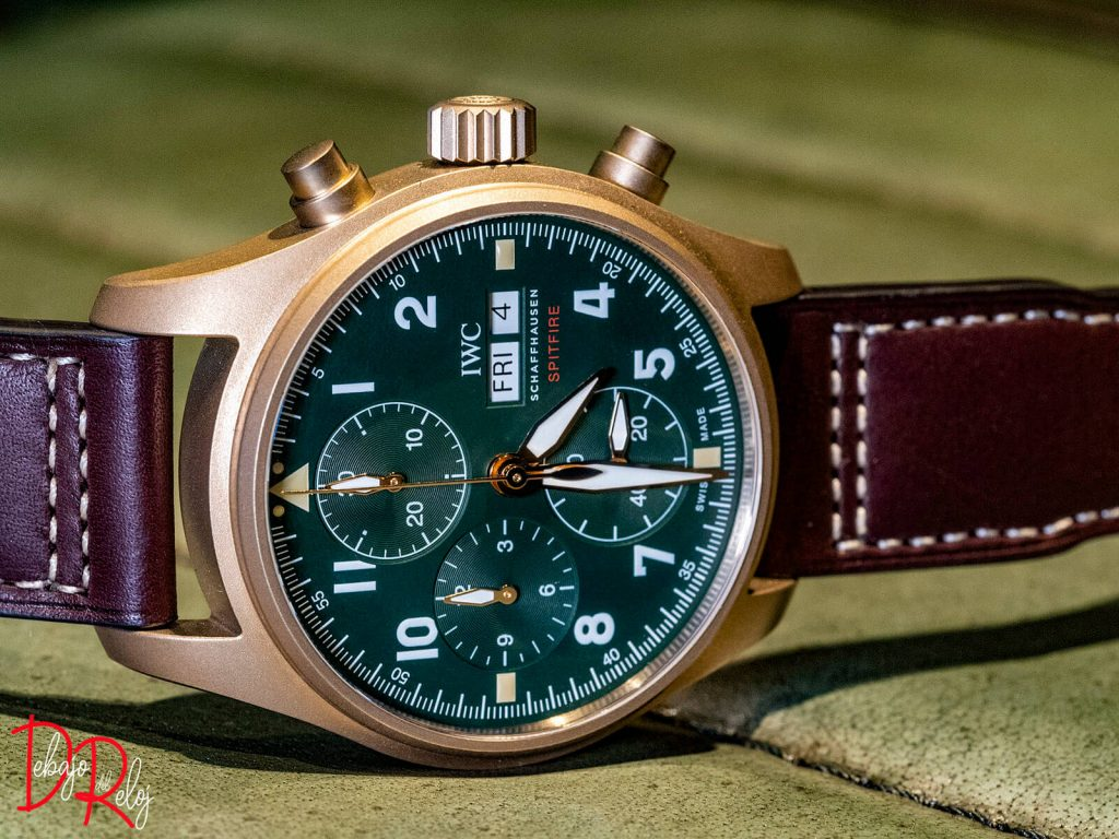 IWC SPITFIRE BRONCE