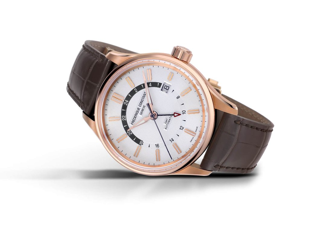 Frederique Constant Yacht Timer GMT blanco