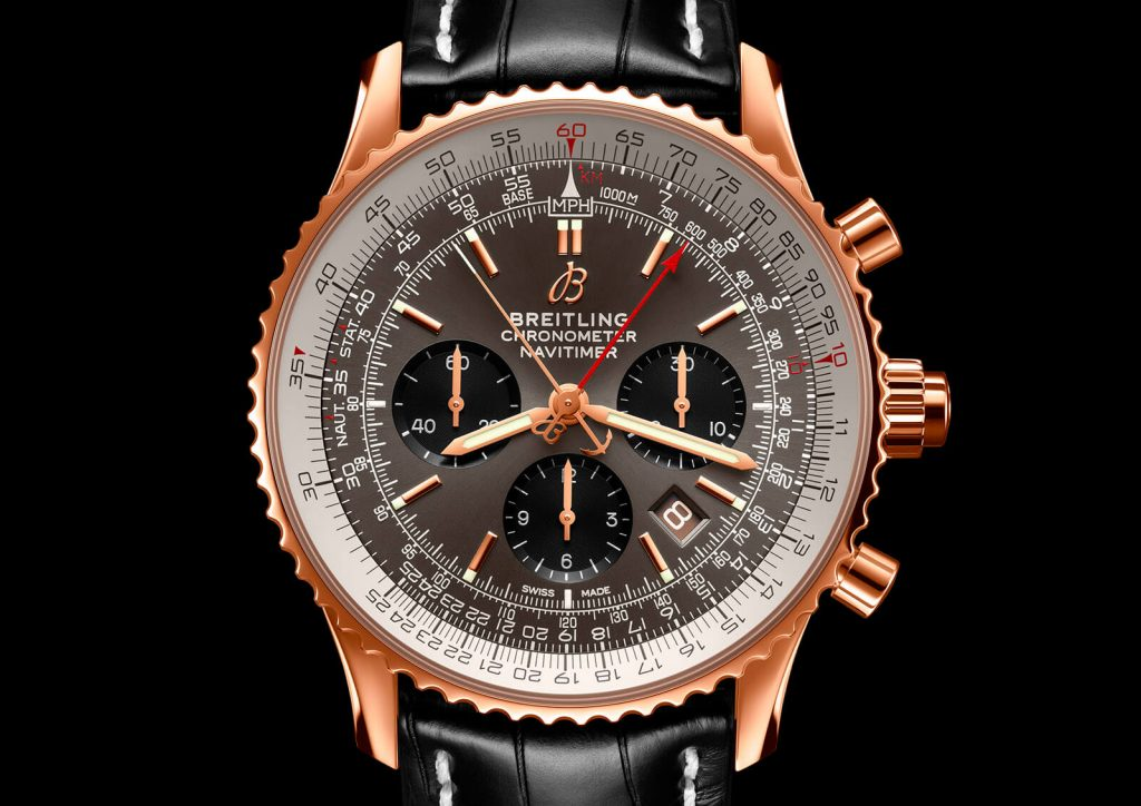 Breitling Navitimer B03 Chronograph Rattrapante 45 front