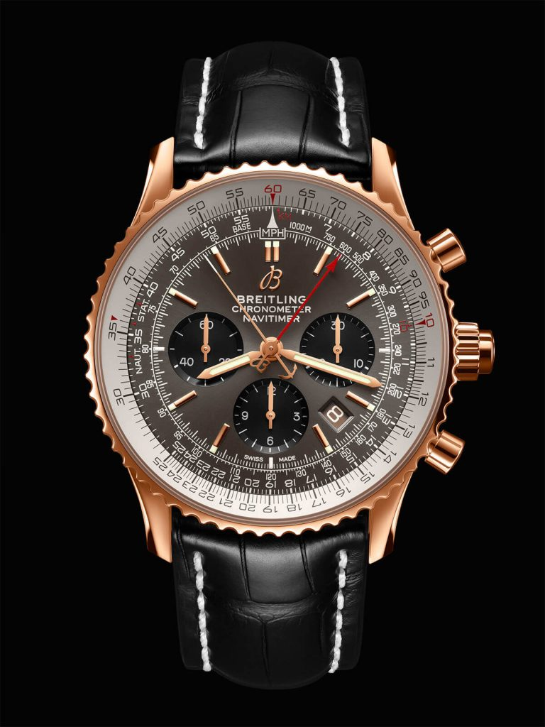 Breitling Navitimer B03 Chronograph Rattrapante 45 front 2