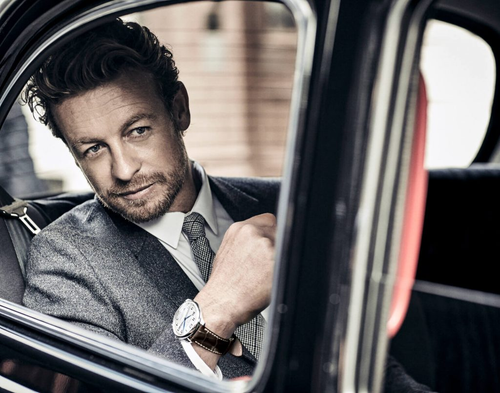 Longines Master Collection Annual Calendar simon baker