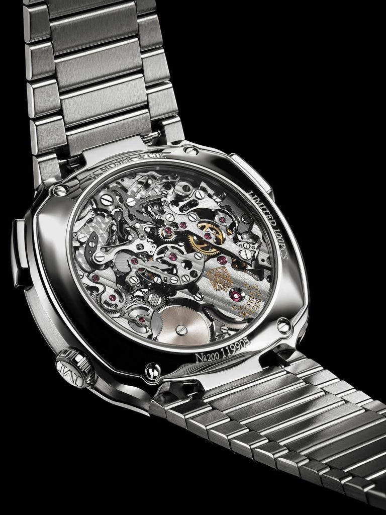 Moser Streamliner Flyback Chronograph Automatic back