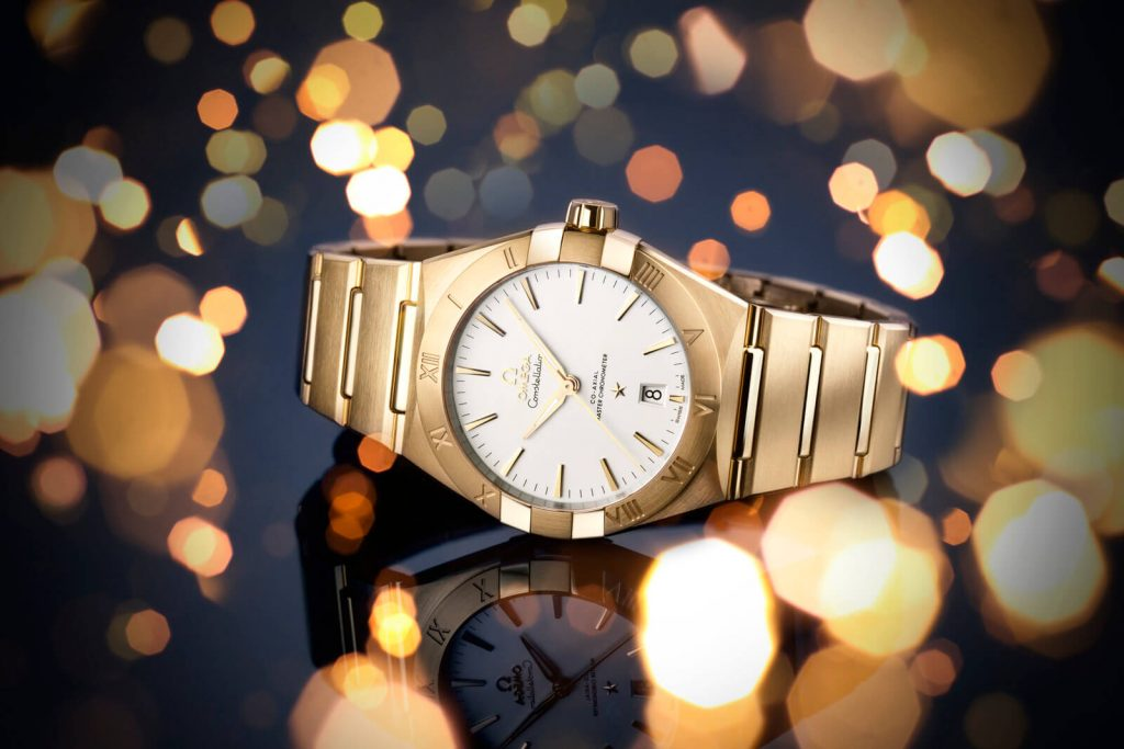 Omega Constellation Gents collection detalle arte