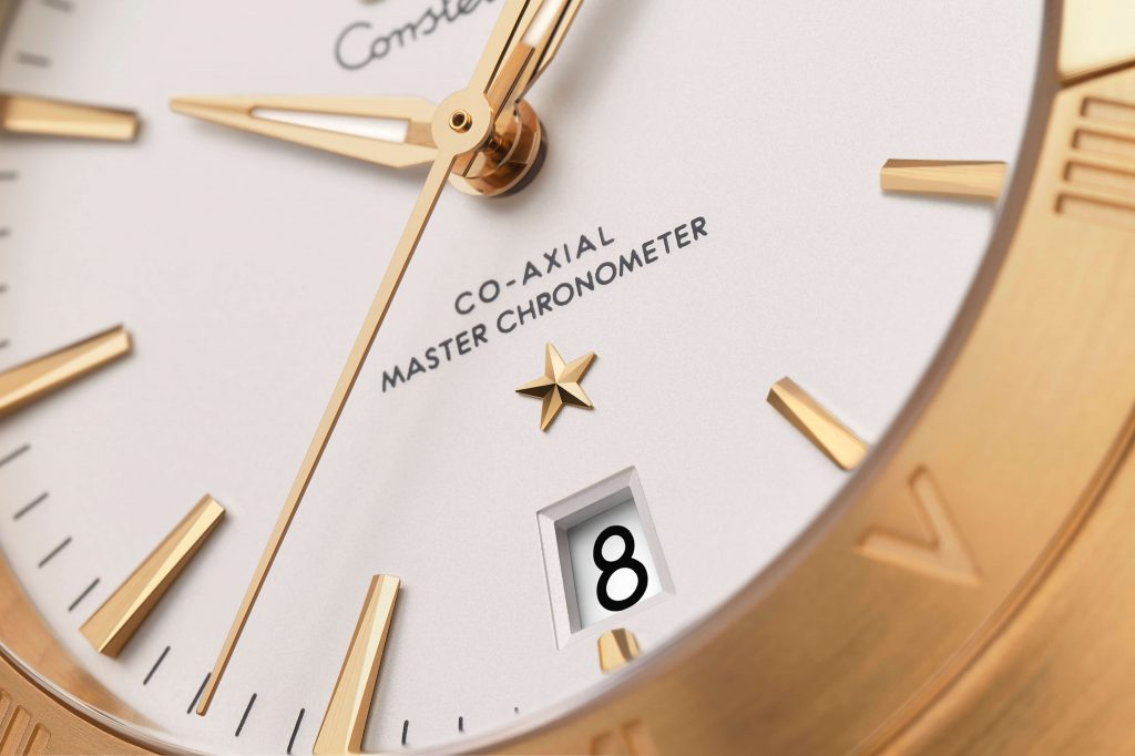 Omega Constellation Gents collection detalle esfera