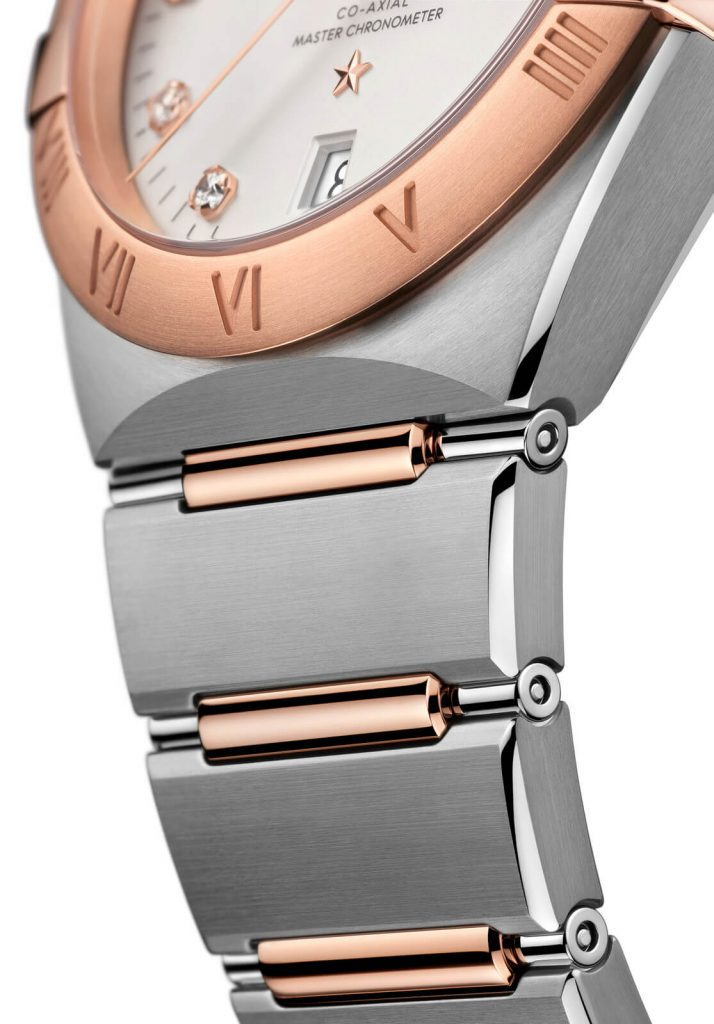 Omega Constellation Gents collection detalle brazalete