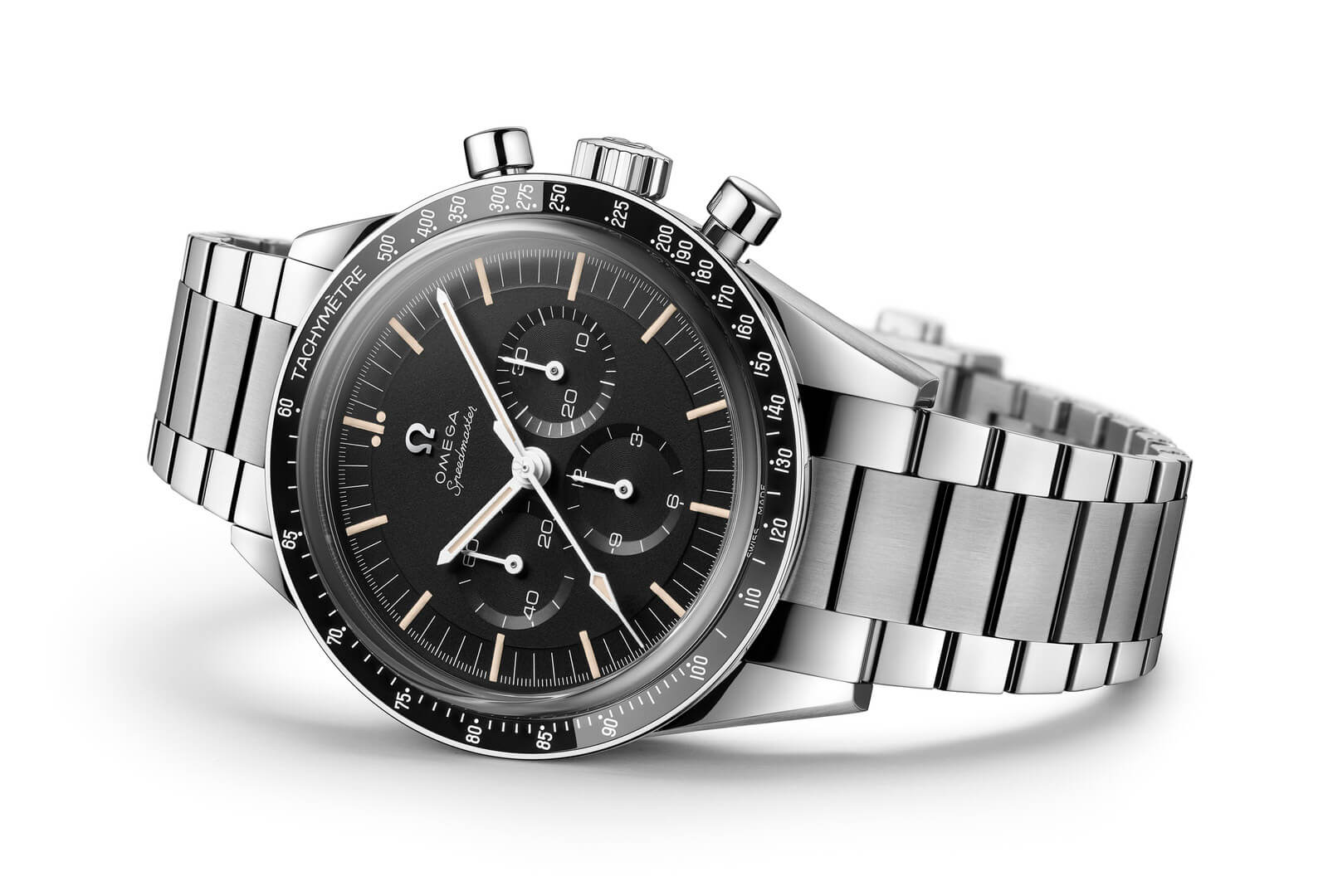 Omega Speedmaster Moonwatch 321 Stainless Steel ED White portada