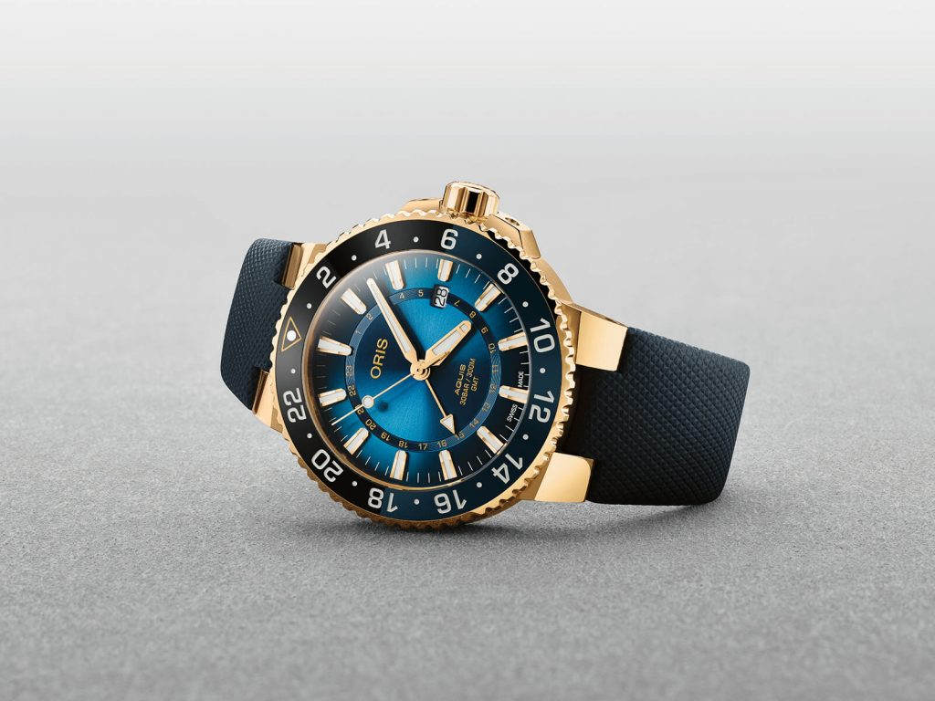 Oris Carysfort Reef Gold Limited edition portada