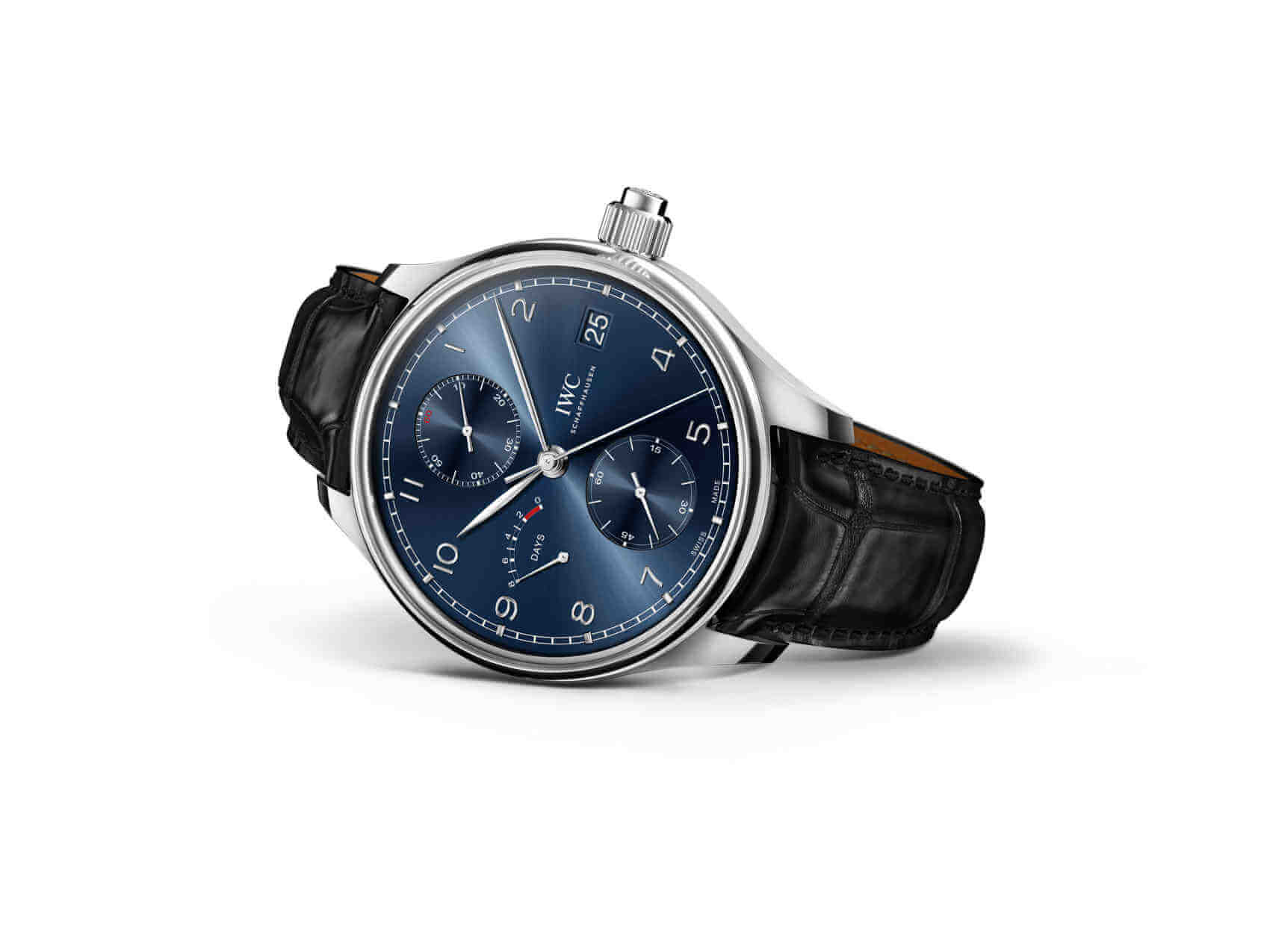 "IWC Portugieser Cuerda Manual Monopulsador Edición ""Laureus Sport for Good"""