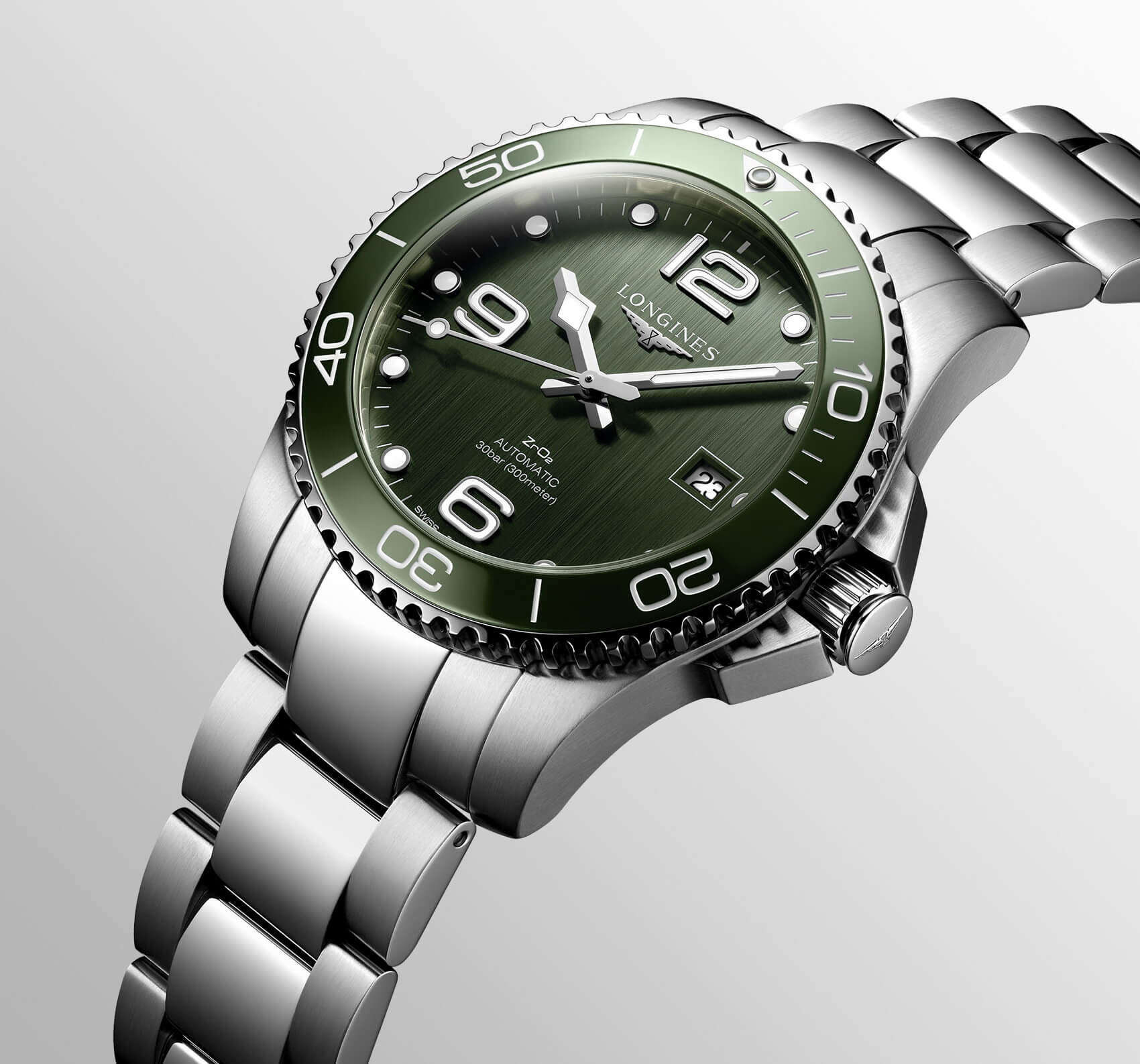 Longines Hydroconquest Green verde