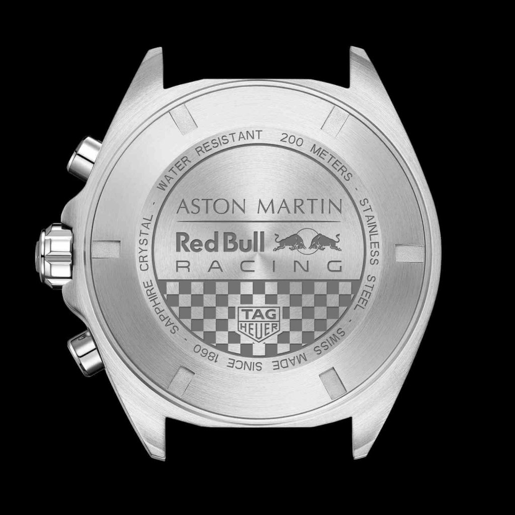 Tag Heuer Formula 1 Aston Martin Red Bull Racing Special Edition 2020 back