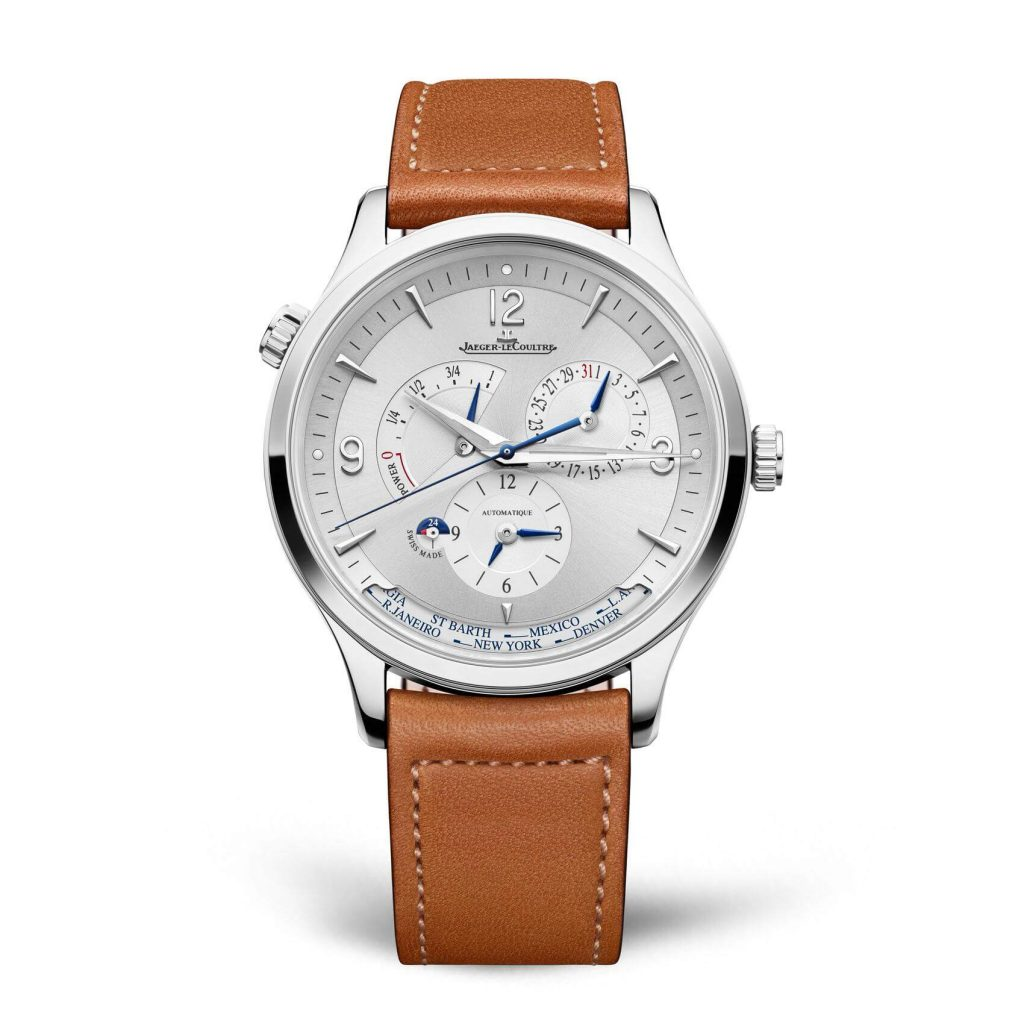 jaeger-lecoultre master control geographic front