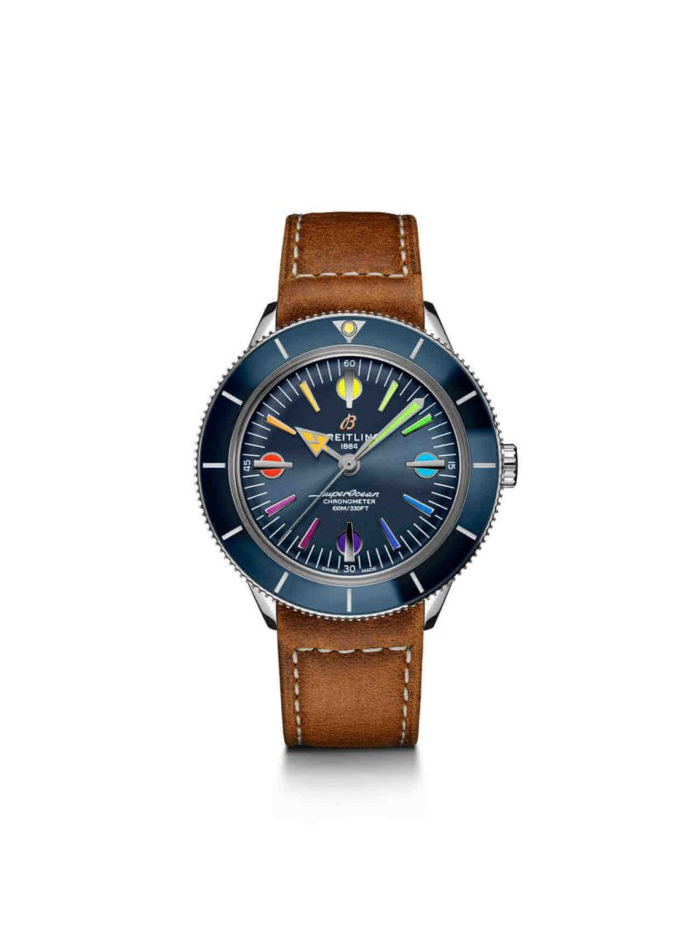 Superocean Heritage Automatic 42 '57 Limited Edition II front cuero