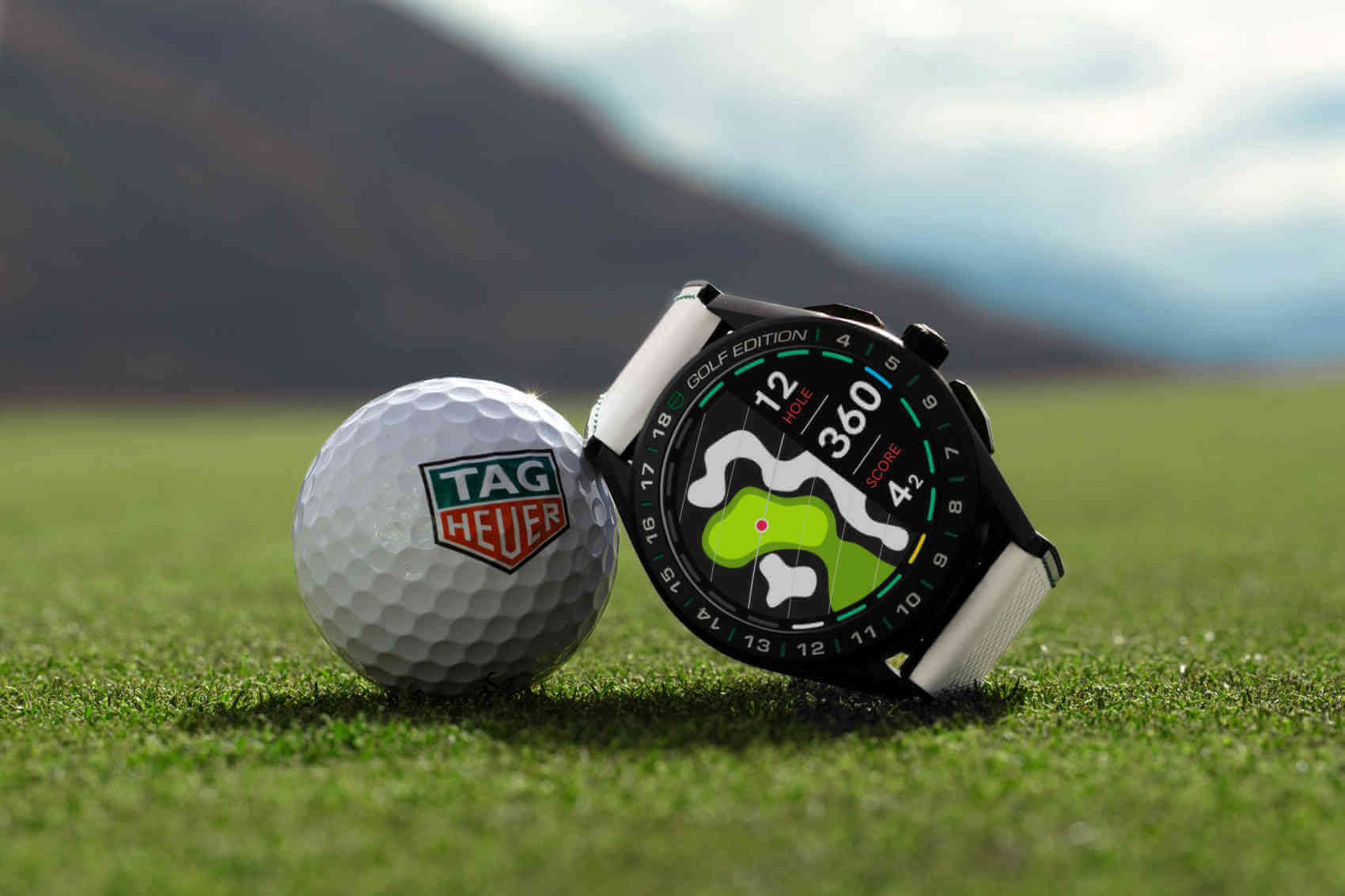 Tag Heuer Connected Watch Golf Edition portada